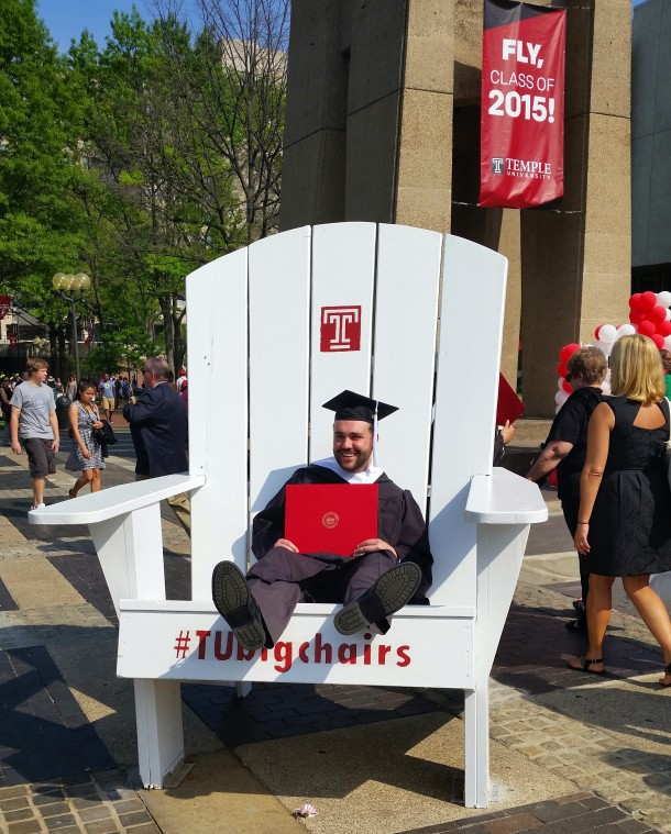 I graduated from Temple University School of Media and Communication with a B.A. in Journalism in May 2015.
