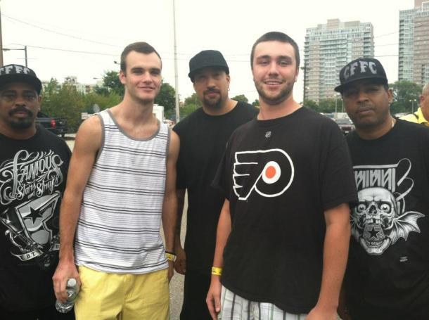 I got to meet Cypress Hill backstage during a show at Festival Pier in Philadelphia.