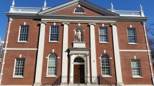 Library of the American Philosophical Society. (Photo Credit: Matt Cassidy)