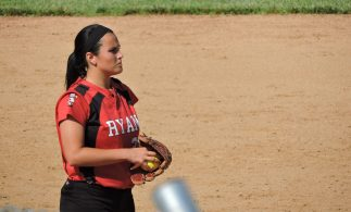 Alexa Marasheski, Archbishop Ryan (Photo: Matt Cassidy)